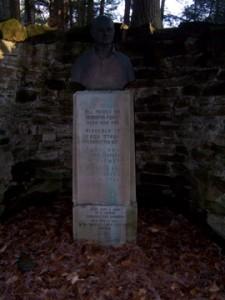 Richard Lieber Memorial Statue